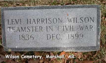 WILSON (VETERAN CSA), LEVI HARRISON - Searcy County, Arkansas | LEVI HARRISON WILSON (VETERAN CSA) - Arkansas Gravestone Photos