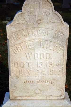 WOOD, ORLIE WILDE - Searcy County, Arkansas | ORLIE WILDE WOOD - Arkansas Gravestone Photos
