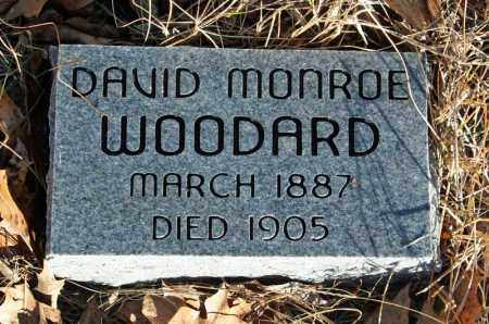 WOODARD, DAVID MONROE - Searcy County, Arkansas | DAVID MONROE WOODARD - Arkansas Gravestone Photos