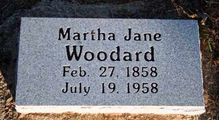 WOODARD, MARTHA JANE (TAYLOR) - Searcy County, Arkansas | MARTHA JANE (TAYLOR) WOODARD - Arkansas Gravestone Photos