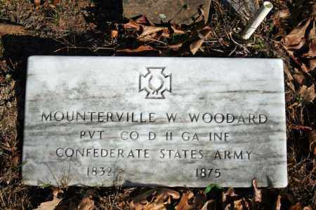 WOODARD (VETERAN CSA), MOUNTERVILLE W - Searcy County, Arkansas | MOUNTERVILLE W WOODARD (VETERAN CSA) - Arkansas Gravestone Photos