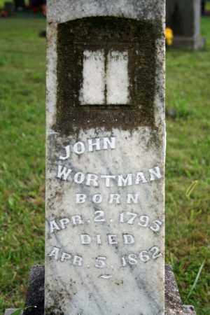 WORTMAN, JOHN - Searcy County, Arkansas | JOHN WORTMAN - Arkansas Gravestone Photos