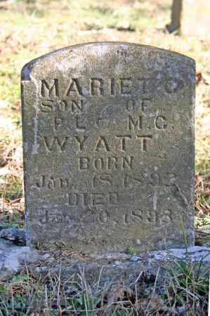 WYATT, MARIET C. - Searcy County, Arkansas | MARIET C. WYATT - Arkansas Gravestone Photos