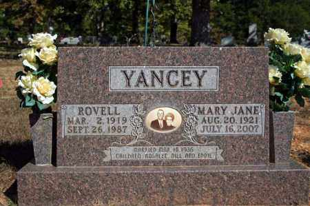 YANCEY, ROVELL - Searcy County, Arkansas | ROVELL YANCEY - Arkansas Gravestone Photos