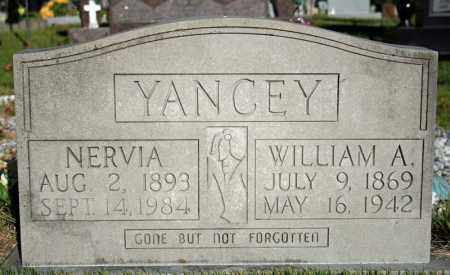 YANCEY, WILLIAM A. - Searcy County, Arkansas | WILLIAM A. YANCEY - Arkansas Gravestone Photos