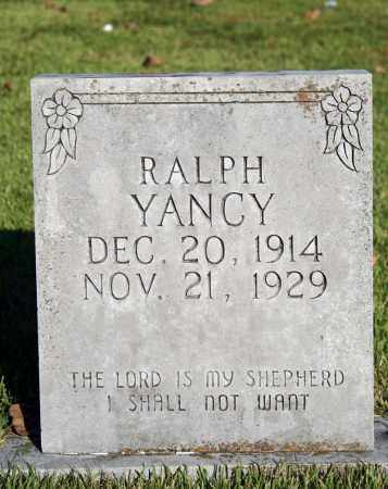 YANCY, RALPH - Searcy County, Arkansas | RALPH YANCY - Arkansas Gravestone Photos
