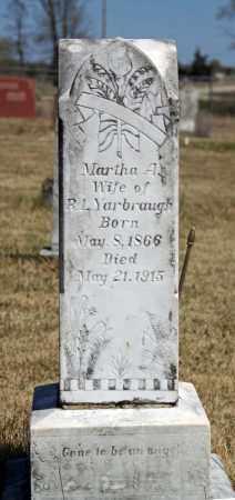 YARBROUGH, MARTHA A. - Searcy County, Arkansas | MARTHA A. YARBROUGH - Arkansas Gravestone Photos