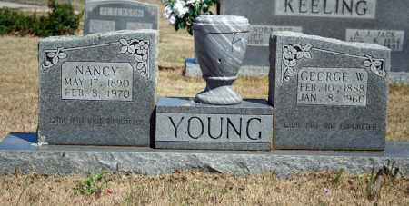YOUNG, GEORGE W. - Searcy County, Arkansas | GEORGE W. YOUNG - Arkansas Gravestone Photos