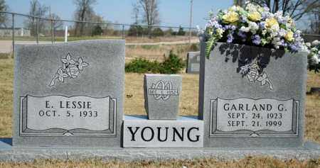 YOUNG, E. LESSIE - Searcy County, Arkansas | E. LESSIE YOUNG - Arkansas Gravestone Photos