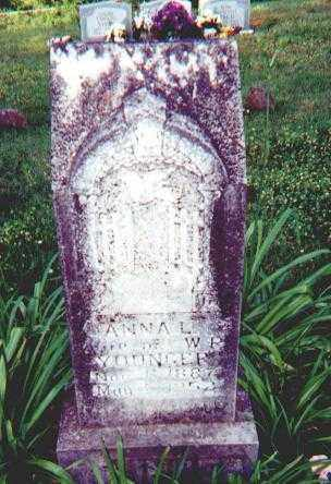 WEITH YOUNGER, ANNA LOUISE - Searcy County, Arkansas | ANNA LOUISE WEITH YOUNGER - Arkansas Gravestone Photos