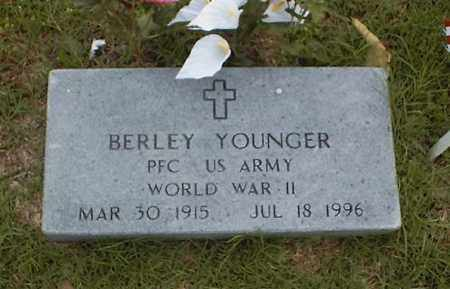 YOUNGER  (VETERAN  WWII), BERLEY - Searcy County, Arkansas | BERLEY YOUNGER  (VETERAN  WWII) - Arkansas Gravestone Photos
