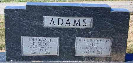 "ADAMS, SUE NELL ""SUE"" - Sebastian County, Arkansas 