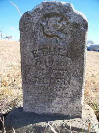 ALLEN, ETHEL - Sebastian County, Arkansas | ETHEL ALLEN - Arkansas Gravestone Photos