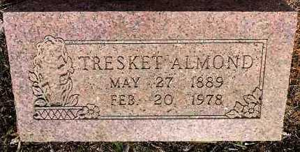 ALMOND, TRESKET - Sebastian County, Arkansas | TRESKET ALMOND - Arkansas Gravestone Photos