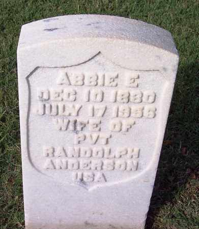 ANDERSON, ABBIE E - Sebastian County, Arkansas | ABBIE E ANDERSON - Arkansas Gravestone Photos