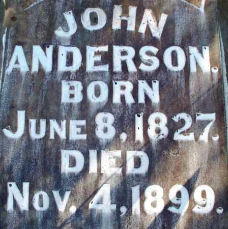ANDERSON, JOHN - Sebastian County, Arkansas | JOHN ANDERSON - Arkansas Gravestone Photos