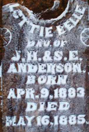 ANDERSON, LOTTIE BELLE - Sebastian County, Arkansas | LOTTIE BELLE ANDERSON - Arkansas Gravestone Photos