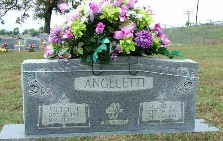 ANGELETTI, VICTOR J - Sebastian County, Arkansas | VICTOR J ANGELETTI - Arkansas Gravestone Photos
