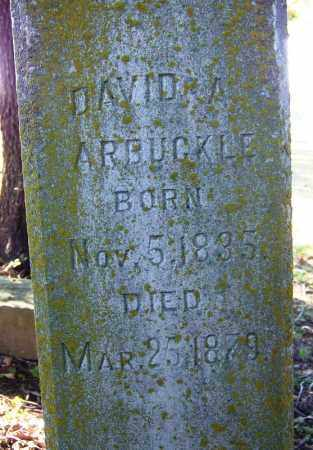 ARBUCKLE, DAVID A. - Sebastian County, Arkansas | DAVID A. ARBUCKLE - Arkansas Gravestone Photos