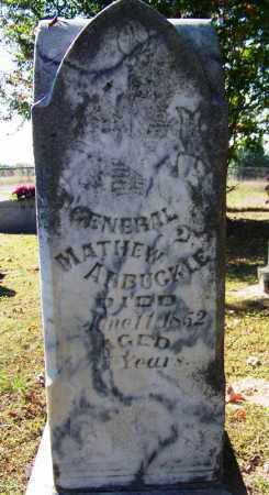 ARBUCKLE (VETERAN IW), MATHEW - Sebastian County, Arkansas | MATHEW ARBUCKLE (VETERAN IW) - Arkansas Gravestone Photos