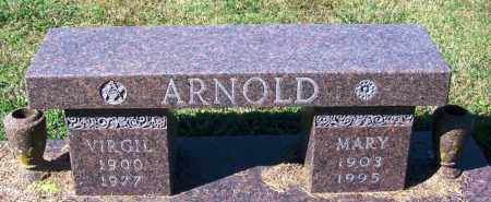 ARNOLD, VIRGIL - Sebastian County, Arkansas | VIRGIL ARNOLD - Arkansas Gravestone Photos