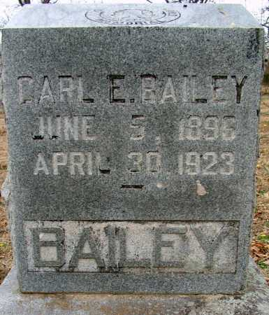 BAILEY, CARL E - Sebastian County, Arkansas | CARL E BAILEY - Arkansas Gravestone Photos
