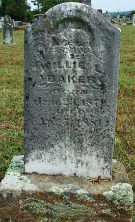 BAKER, WILLIE L - Sebastian County, Arkansas | WILLIE L BAKER - Arkansas Gravestone Photos