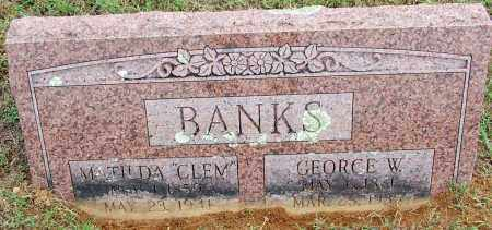 BANKS, GEORGE W - Sebastian County, Arkansas | GEORGE W BANKS - Arkansas Gravestone Photos