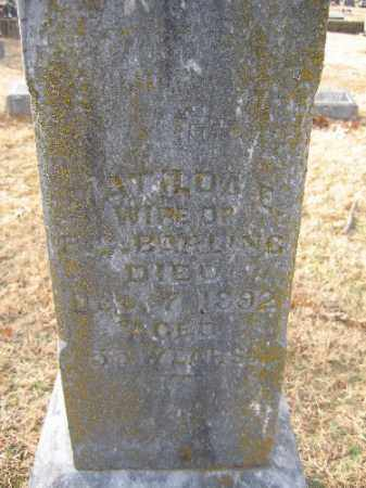 BARLING, MATILDA E. - Sebastian County, Arkansas | MATILDA E. BARLING - Arkansas Gravestone Photos