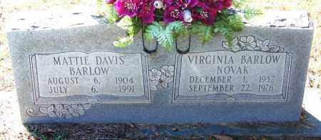 NOVAK, VIRGINIA - Sebastian County, Arkansas | VIRGINIA NOVAK - Arkansas Gravestone Photos