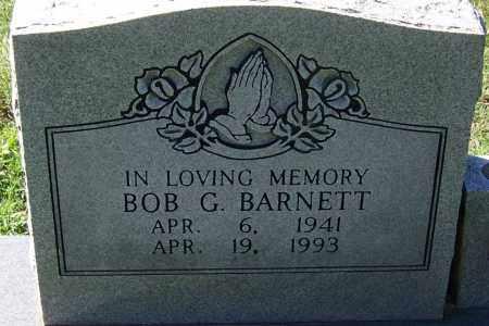 BARNETT, BOB G - Sebastian County, Arkansas | BOB G BARNETT - Arkansas Gravestone Photos