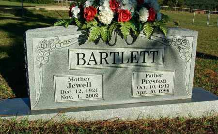 BARTLETT, PRESTON - Sebastian County, Arkansas | PRESTON BARTLETT - Arkansas Gravestone Photos