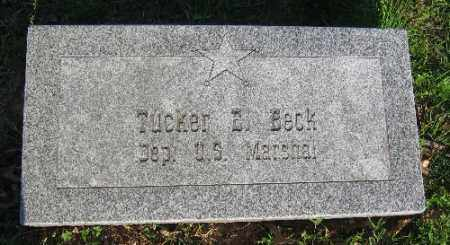 BECK, TUCKER - Sebastian County, Arkansas | TUCKER BECK - Arkansas Gravestone Photos