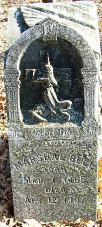 BELL, MARSHAL - Sebastian County, Arkansas | MARSHAL BELL - Arkansas Gravestone Photos