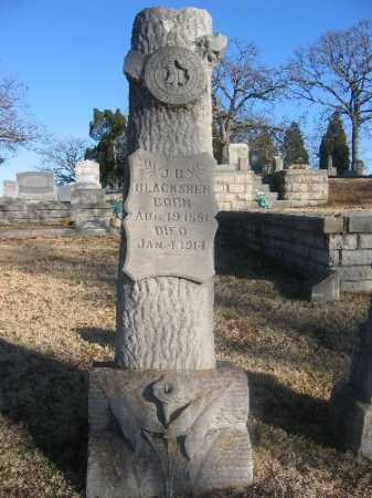 BLACKSHER, J. B. - Sebastian County, Arkansas | J. B. BLACKSHER - Arkansas Gravestone Photos