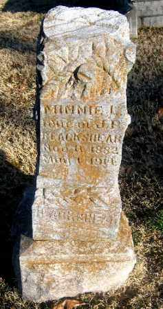 BLACKSHER, MINNIE L. - Sebastian County, Arkansas | MINNIE L. BLACKSHER - Arkansas Gravestone Photos
