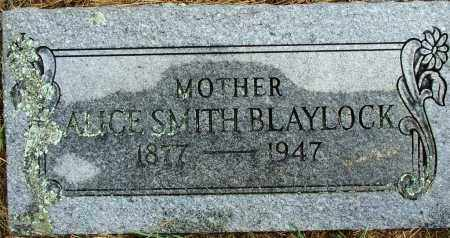 BLAYLOCK, ALICE SMITH - Sebastian County, Arkansas | ALICE SMITH BLAYLOCK - Arkansas Gravestone Photos