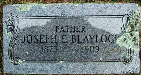 BLAYLOCK, JOSEPH E - Sebastian County, Arkansas | JOSEPH E BLAYLOCK - Arkansas Gravestone Photos