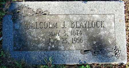 BLAYLOCK, MALCOLM J - Sebastian County, Arkansas | MALCOLM J BLAYLOCK - Arkansas Gravestone Photos