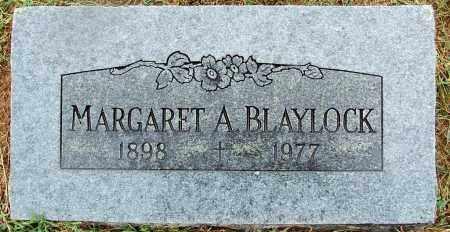 BLAYLOCK, MARGARET A - Sebastian County, Arkansas   MARGARET A BLAYLOCK - Arkansas Gravestone Photos