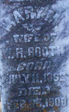 BOOTH, MARY M (2) - Sebastian County, Arkansas | MARY M (2) BOOTH - Arkansas Gravestone Photos