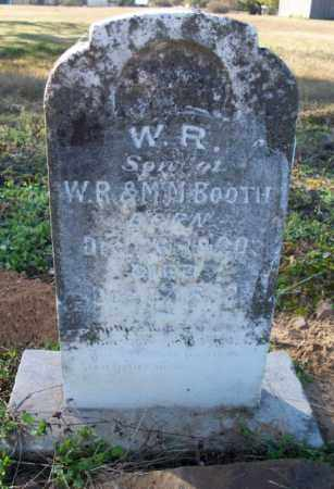 BOOTH, W. R. - Sebastian County, Arkansas | W. R. BOOTH - Arkansas Gravestone Photos
