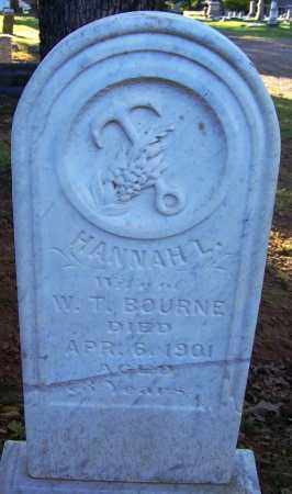 BOURNE, HANNAH L - Sebastian County, Arkansas | HANNAH L BOURNE - Arkansas Gravestone Photos