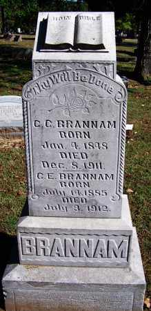 BRANNAM, C E - Sebastian County, Arkansas | C E BRANNAM - Arkansas Gravestone Photos