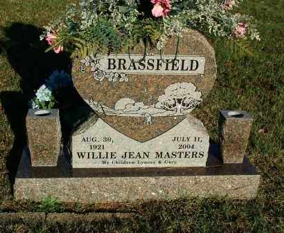 BRASSFIELD, WILLIE JEAN - Sebastian County, Arkansas | WILLIE JEAN BRASSFIELD - Arkansas Gravestone Photos