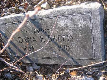BREED, DANA F. - Sebastian County, Arkansas | DANA F. BREED - Arkansas Gravestone Photos