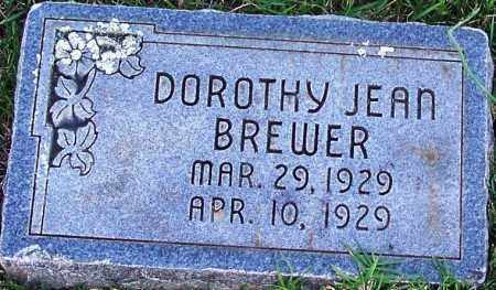 BREWER, DOROTHY JEAN - Sebastian County, Arkansas | DOROTHY JEAN BREWER - Arkansas Gravestone Photos