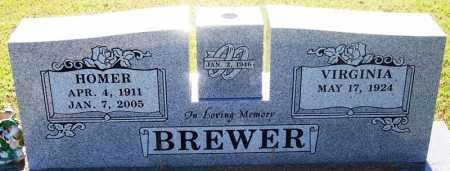BREWER, HOMER - Sebastian County, Arkansas | HOMER BREWER - Arkansas Gravestone Photos
