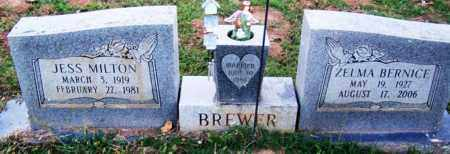 BREWER, ZELMA BERNICE - Sebastian County, Arkansas | ZELMA BERNICE BREWER - Arkansas Gravestone Photos