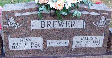 BREWER, JAMES V - Sebastian County, Arkansas | JAMES V BREWER - Arkansas Gravestone Photos